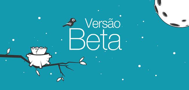 Versão Beta do Wix