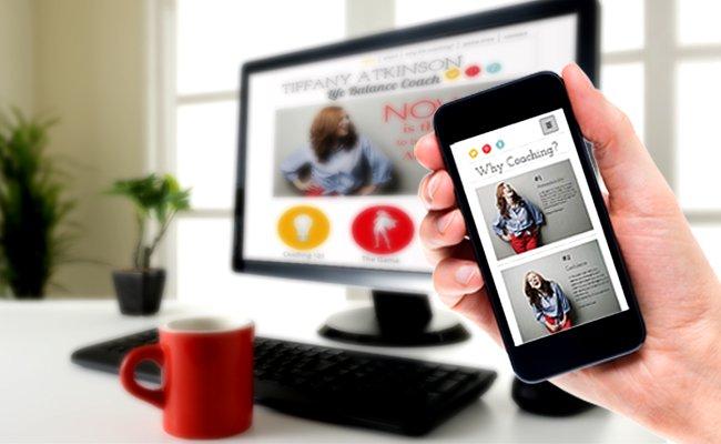 Use o Editor Wix para criar uma versão otimizada para mobiles do seu site.