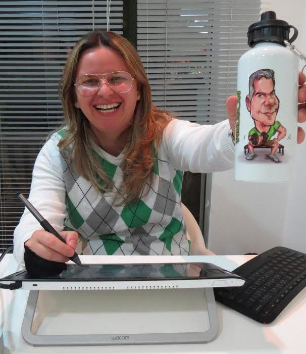 Paula Zambotti Caricaturas