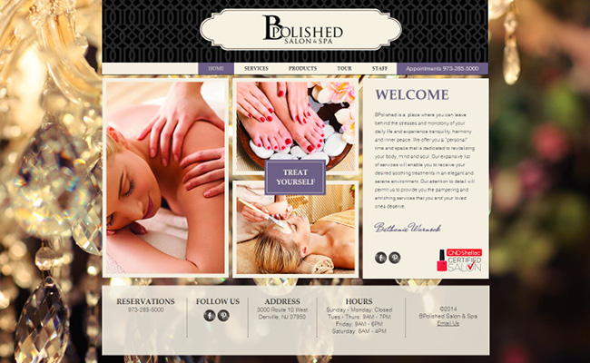 B Polished Salon & Spa >>