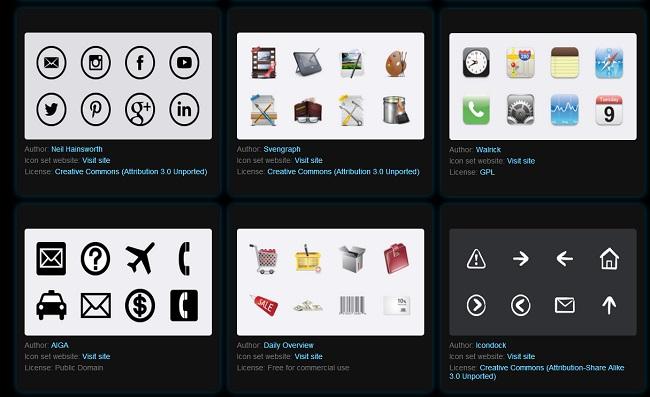 Free Icons!