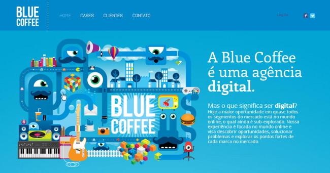 Blue Coffee