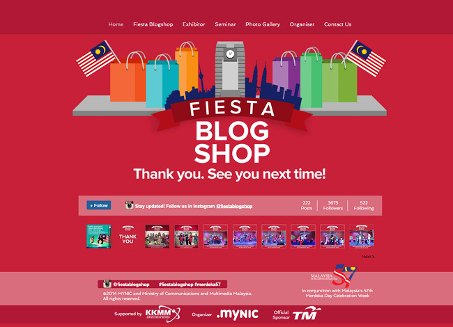Fiesta Blog Shop