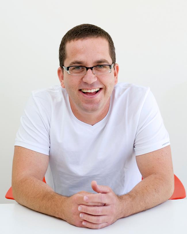 Omer Shai, responsável pelo Marketing da plataforma Wix.com.