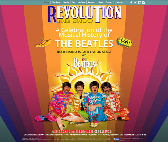 Revolution The Show – Beatlemania nos Palcos >>