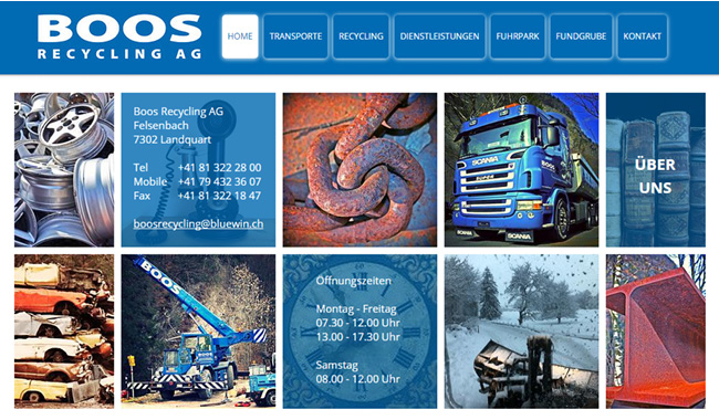 Boos Recycling – Soluções em Metal Ecológico >>