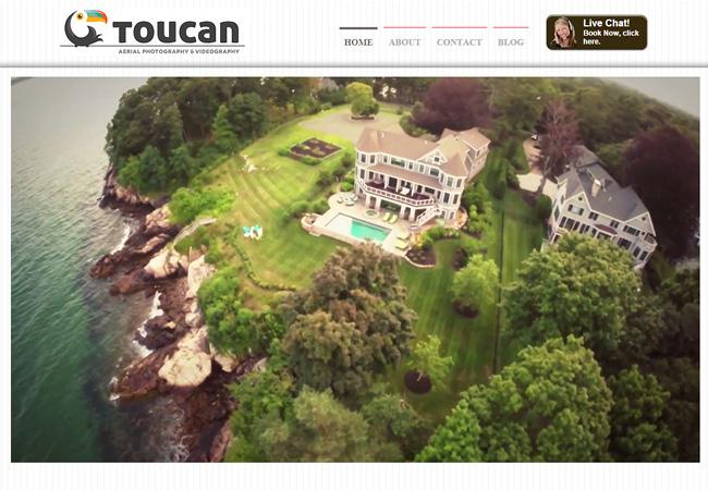 Toucan – Fotografia Aérea >>