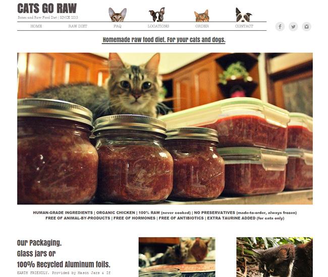 Cats Go Raw – Dieta Caseira para Gatos >>