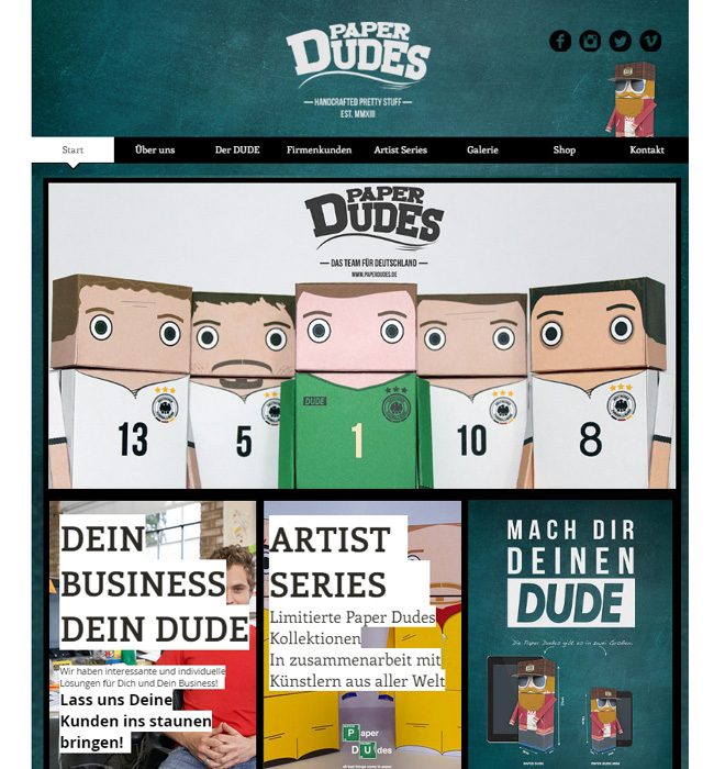 Paper Dudes >>