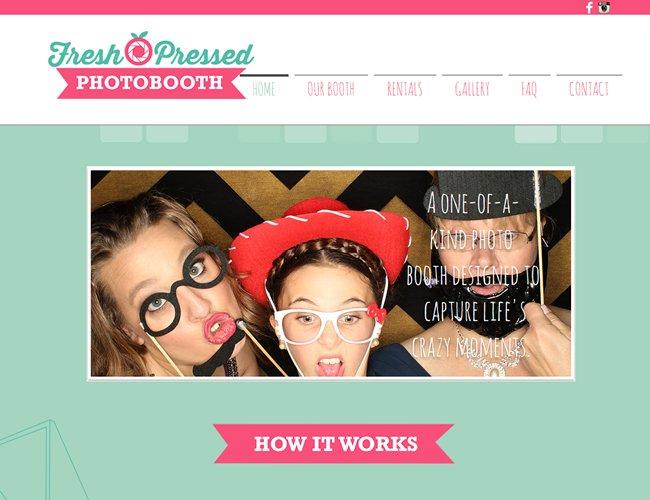 Fresh Pressed Photobooth >>