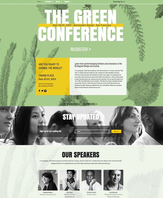 Conferência de Ecodesign