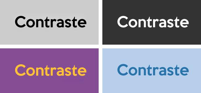 7 Segredos Para A Escolha das Cores dos Textos De Seu Site