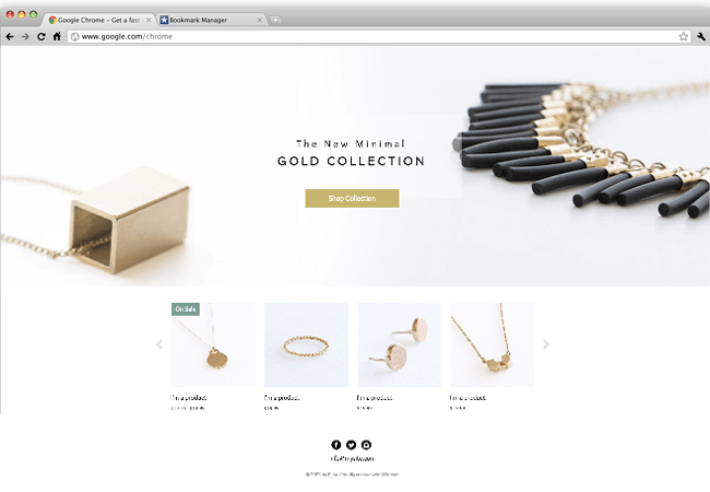 Wix - Jewelry Designer Website