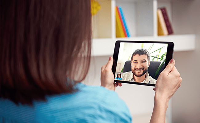 Faça ligações de vídeo ou áudio para seus amigos do Facebook