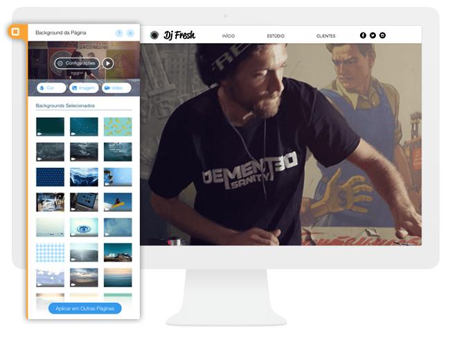 Novidade do Wix: Conquiste seus Visitantes com Incríveis Backgrounds de Vídeo