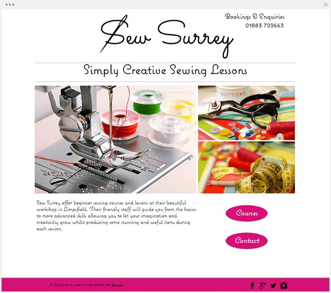 Sew Surrey