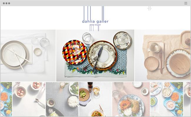 Dahlia Galler, Prop Stylist