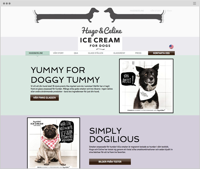 Hugo & Celine, Ice Cream for Dogs