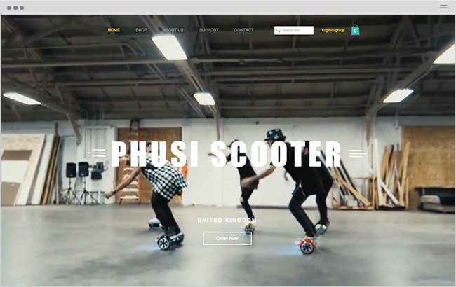 Phusi Scooter
