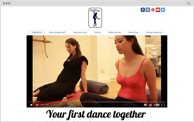 Preg Dance, Exercise Classes