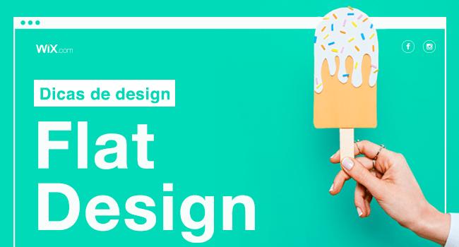 De Volta ao Flat: 10 Dicas para Criar um Site Belíssimo com Flat Design