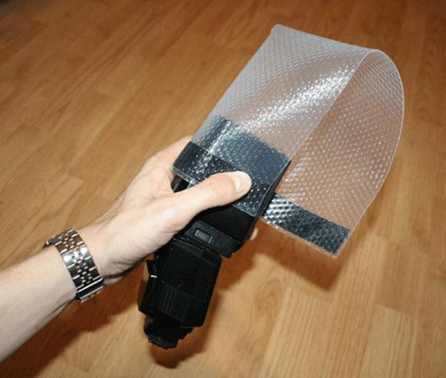 Lightsphere de plástico bolha