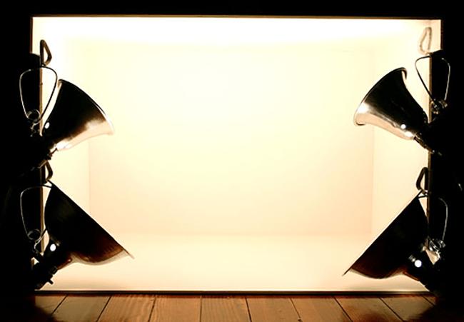 Tenda de Iluminação Caseira