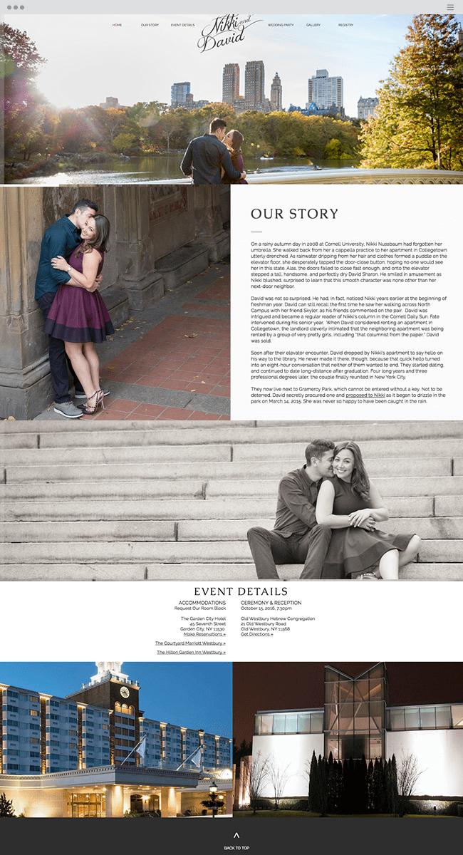 O Relacionamento Urbano de Nikki & David