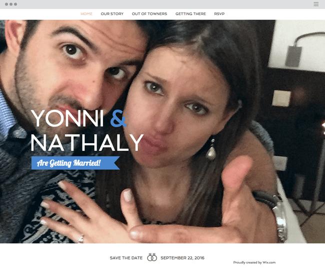 O Site de Nathaly & Yonni Mora no Nosso Coração