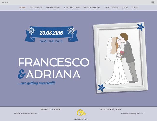 No Mediterrâneo com Francesco & Adriana