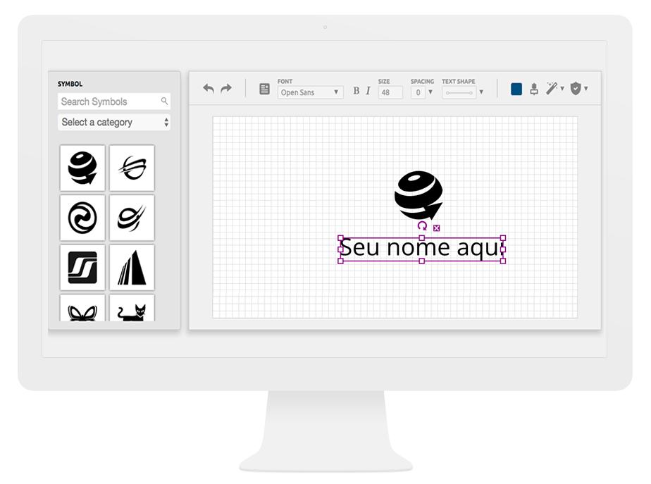Logo com Design Profissional Online