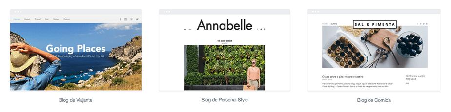 Templates para blog