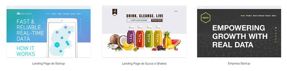 Templates para Landing Page