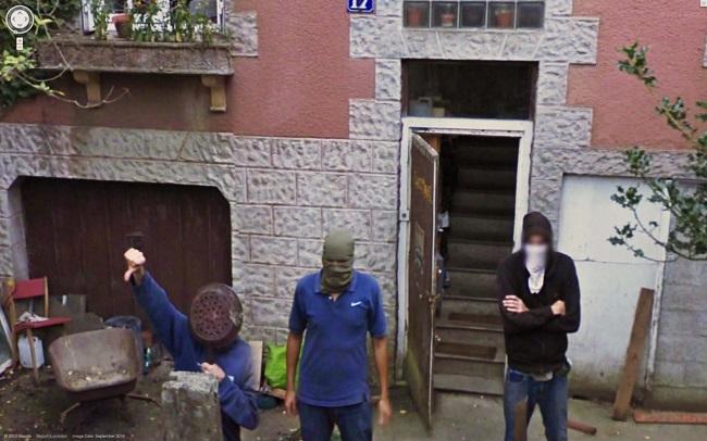 Os Grandes Momentos do Google Street View