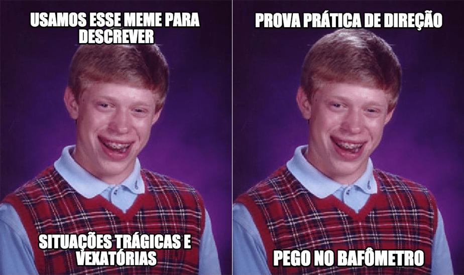 Como usar memes: Bad Luck Brian