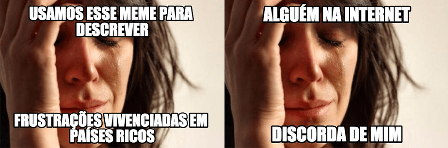 Como usar memes: First World Problems