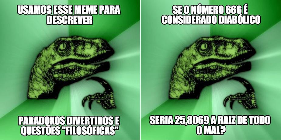 Como usar memes: Filosoraptor