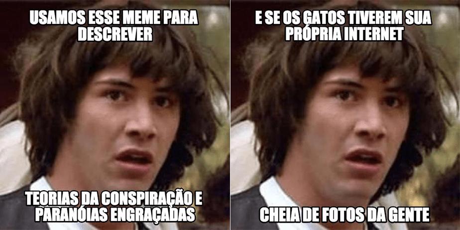 Como usar memes: Conspiracy Keanu