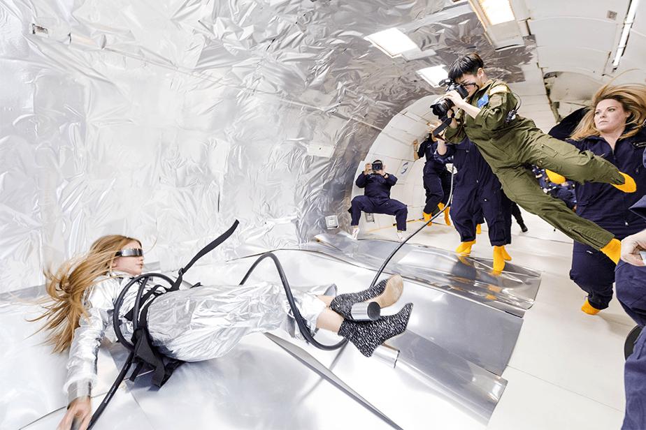 Fotografia em Gravidade Zero: um Sonho que se Tornou Realidade
