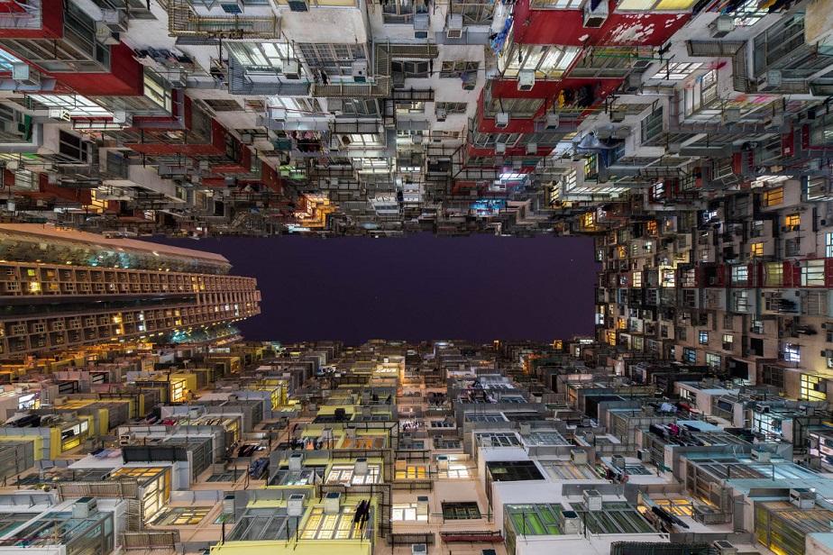 Looking Up, por Albert Dros