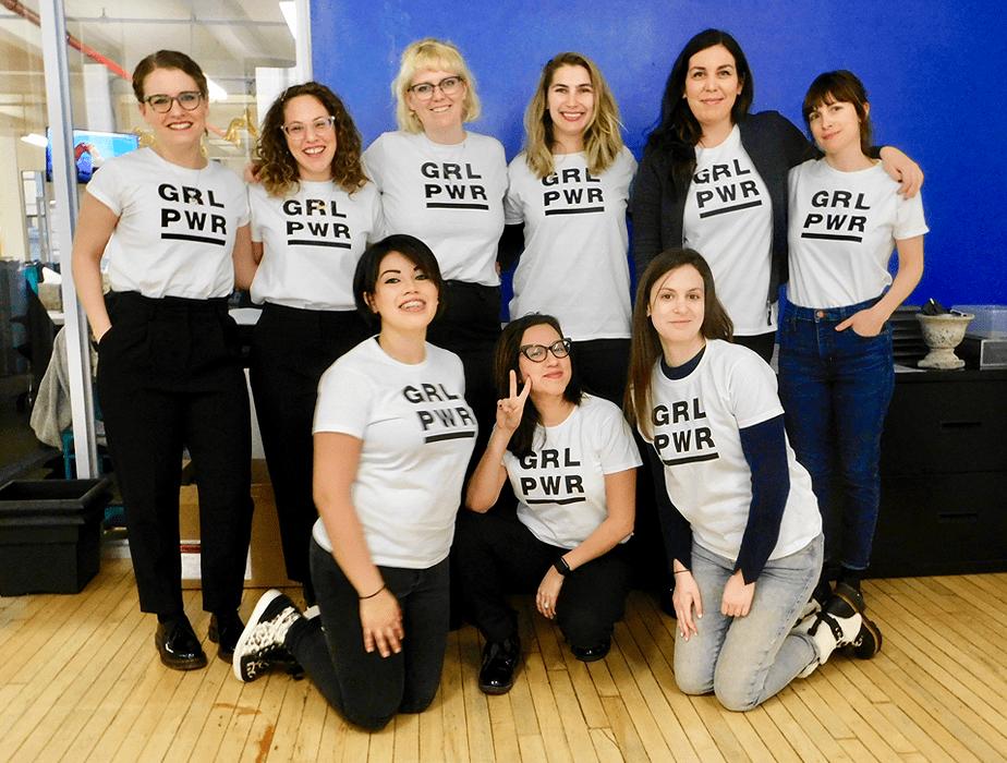 Dia Internacional da Mulher no Wix - Nova Iorque, Estados Unidos