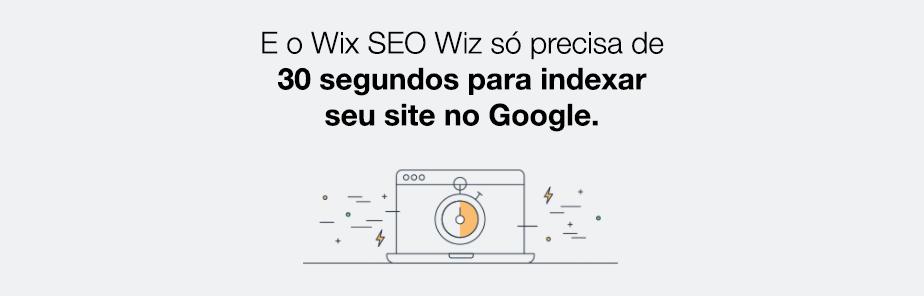 Motivos Inquestionáveis para Confiar no SEO do Wix: seu site indexado em 30 segundos