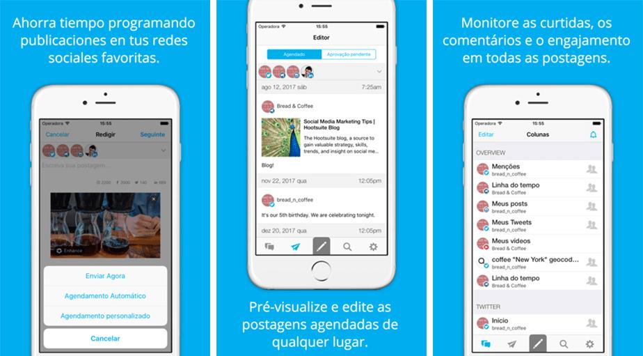 Melhores Aplicativos para Donos de Pequenas Empresas: HootSuite