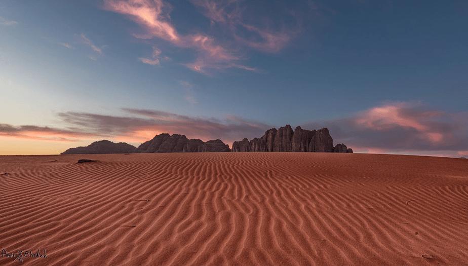 Wadi Rum, Jordânia por Amir Ehrlich