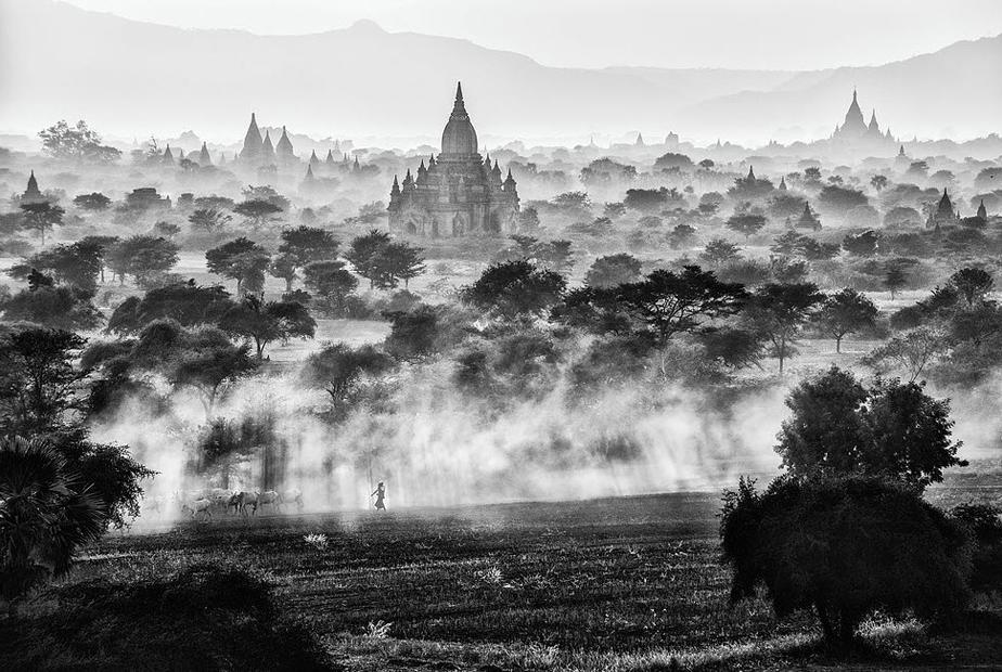 Bagan, Myanmar por Roberto Vámos