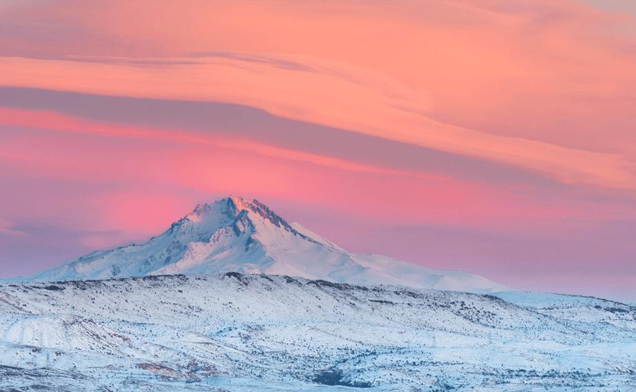Monte Erciyes, Turquia por Tyler Turner