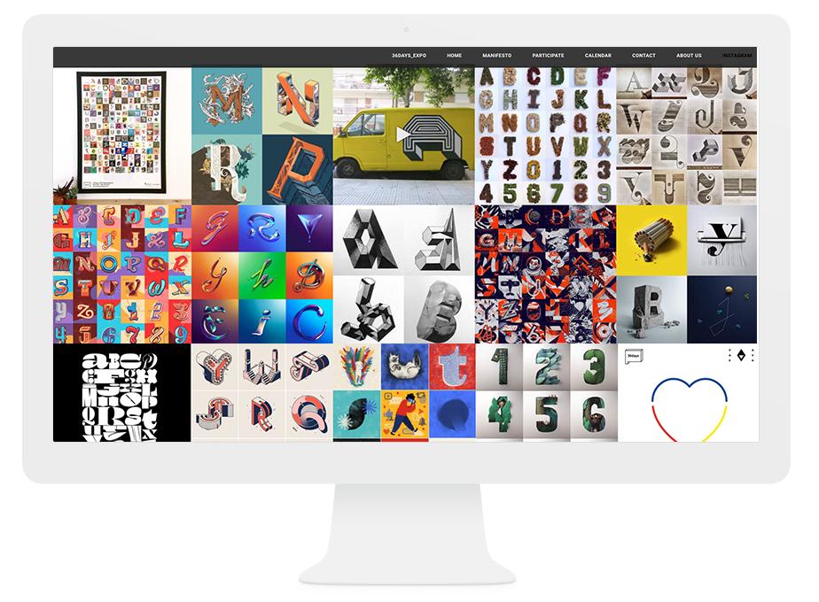 Onde Nossos Melhores Designers Encontram Inspiração na Internet: 36 Days of Type