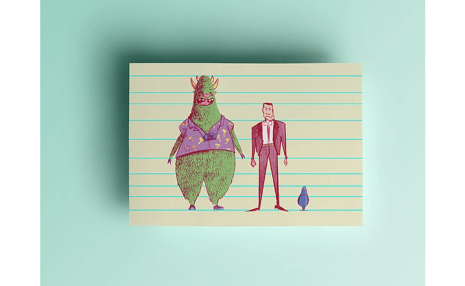 """Pré-produção do projeto de animação """"Monstro na Cidade"""""""