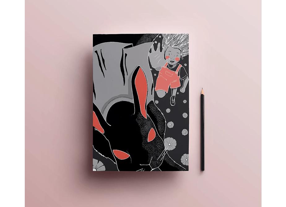"""Ilustração """"Alice no País das Maravilhas"""""""