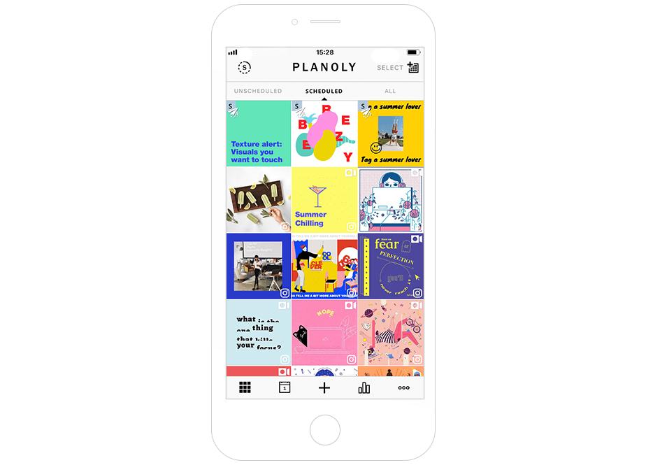 Melhores Ferramentas de Instagram para seu Negócio: Planoly